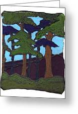 Northern Woods Greeting Card