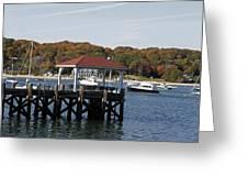 Northport Harbor Greeting Card