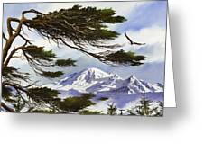 Northwest Majesty Greeting Card