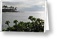 Northwest Maui Bay Greeting Card