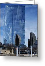 Northwestern Mutual Tower - Milwaukee Wisconsin 2017 Greeting Card