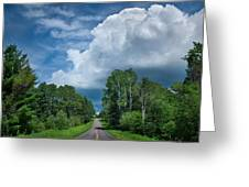 Northwoods Road Trip Greeting Card