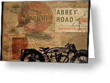 Norton Greeting Card by Cinema Photography