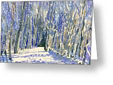 Norwalk River Valley Trail Greeting Card