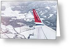 Norwegian Aerial Greeting Card