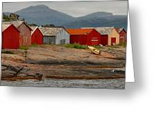 Norwegian Coast No. 3 Greeting Card