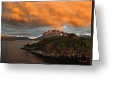 Norwegian Coast No. 6 Greeting Card by Joe Bonita