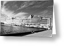 Norwegian Epic Visit Greeting Card