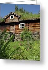 Norwegian Wood Greeting Card