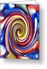 Nostalgic Marbles 4 Greeting Card