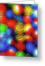 Nostalgic Marbles 5 Greeting Card