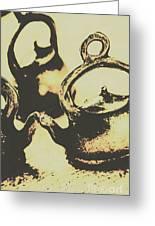 Nostalgic Tea Break Greeting Card