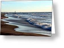 Not A Soul Grand Bend 3 Greeting Card