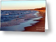 Not A Soul Grand Bend 7 Greeting Card