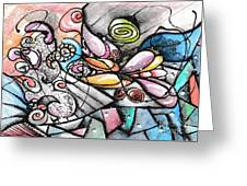 Note Card Art Greeting Card