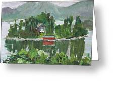 Nothagen Island Scenery Greeting Card