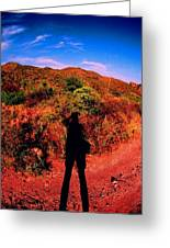 Nothing But A Shadow Greeting Card