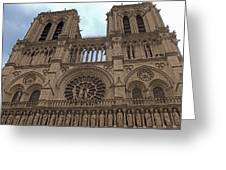 Notre-dame Cathedral Greeting Card