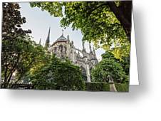 Notre Dame Cathedral - Paris, France Greeting Card