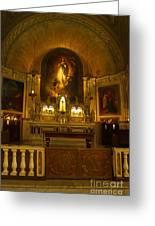 Notre-dame-de-bon-secours Chapel Greeting Card