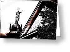 Notre Dame De Bon Secours-vieux Port Greeting Card