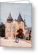 Notre Dame De La Couture Greeting Card