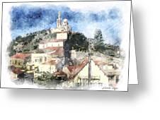 Notre Dame De La Garde-marseille Greeting Card