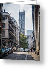 Notre-dame De Montreal Greeting Card
