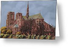 Notre-dame Greeting Card