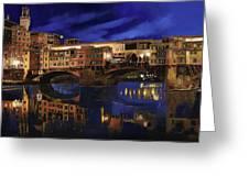 Notturno Fiorentino Greeting Card