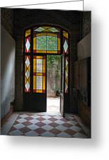 Apartment Entrance - Venice, Italy Greeting Card