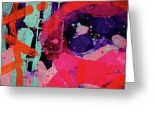 Nova Abstract Greeting Card