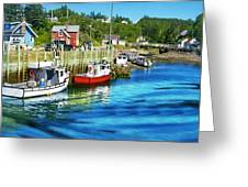 Nova Scotia Greeting Card