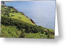 Nova Scotia Slope Greeting Card