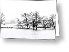 November Flood 1 Greeting Card