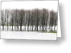 November Flood 2 Greeting Card