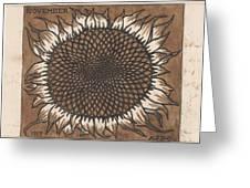 November, Julie The Like, 1917 Greeting Card