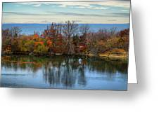 November Reflections Greeting Card