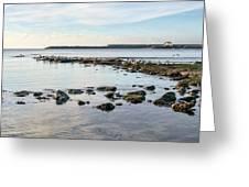 November Seascape 5 - Lyme Regis Greeting Card