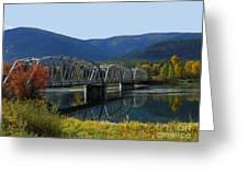 Noxon Bridge Greeting Card