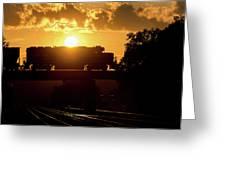 Ns Local At Sunset Greeting Card