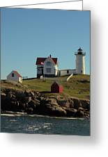 Nubble Light 4 Greeting Card