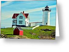 Nubble Lighthouse II Greeting Card