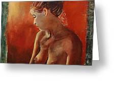 Nude 458755 Greeting Card