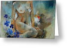 Nude 67 Greeting Card