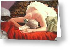 Nude At Rest 1 Greeting Card