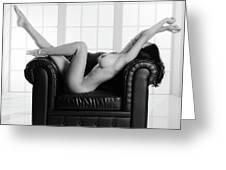 Nude Chair Greeting Card