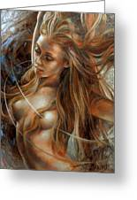 Nude Dinamik2 Greeting Card by Arthur Braginsky