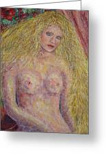 Nude Fantasy Greeting Card