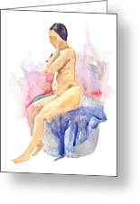 Nude Female 15 Greeting Card
